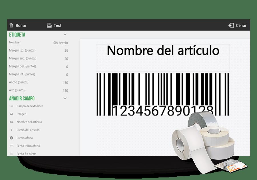 Retail etiquetas