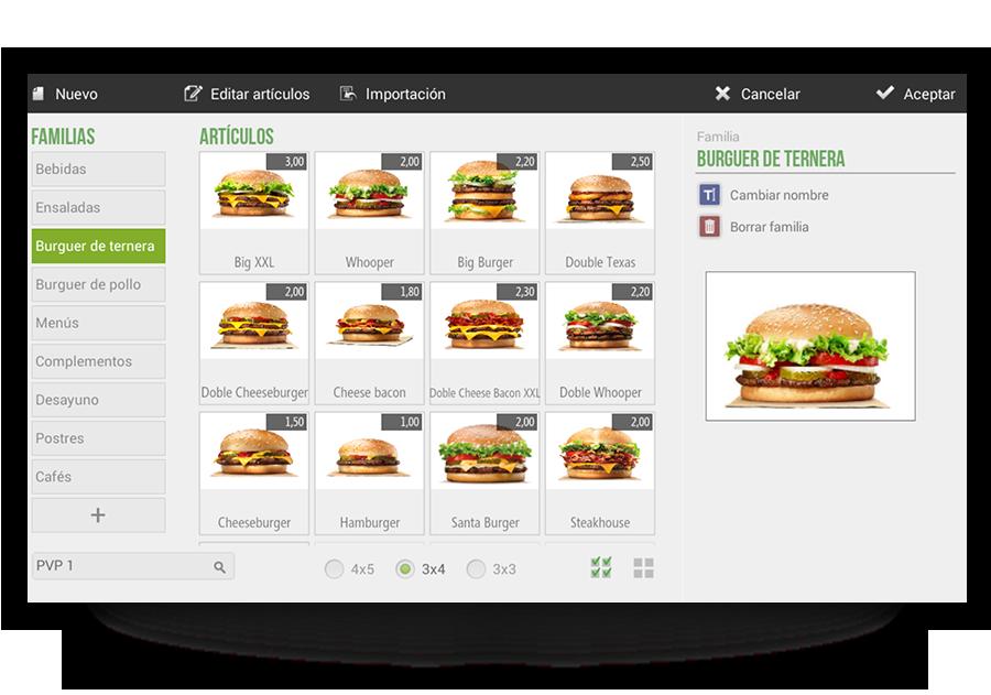 screen burgers